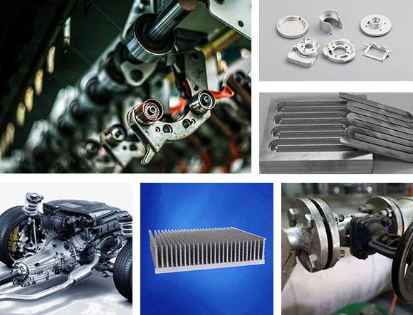 850-1360立式加工中心适用行业