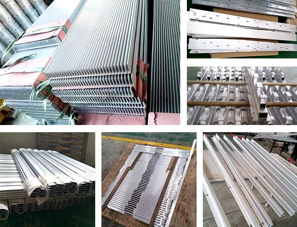 电子电器铝型材加工机器