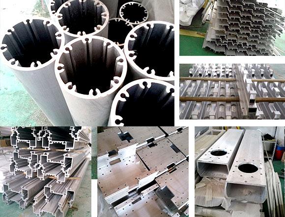 医辽器械铝型材数控钻铣加工中心