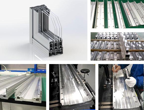 自动化模组五轴铝型材加工中心