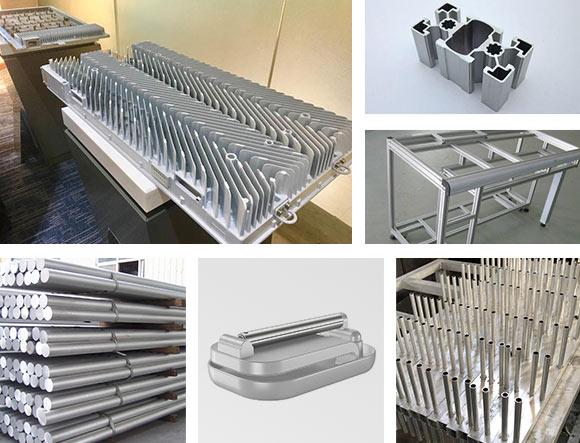 5G基站铝型材加工设备