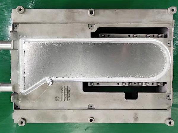 水冷板摩擦焊接利器--科鼎数控MCH1270搅拌摩擦焊机