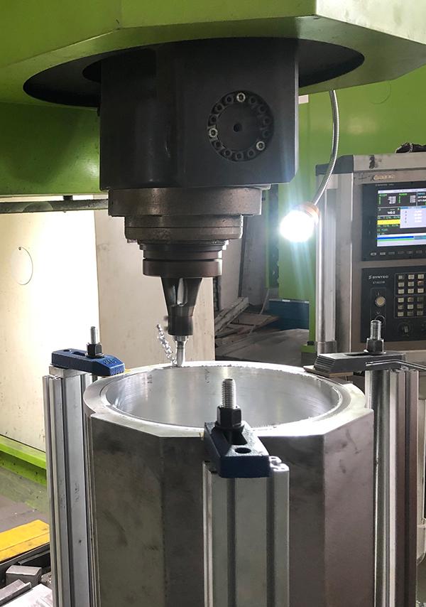 水冷电机壳搅拌摩擦焊机