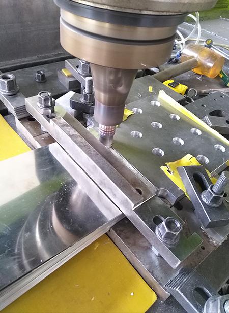 电力软链接搅拌摩擦焊机
