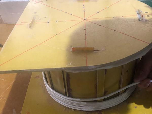 电磁模具炉线圈组装